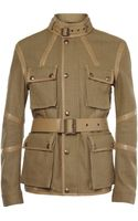 Belstaff Nottington Canvas and Leather Jacket - Lyst