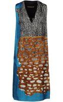 Balenciaga Short Dresses - Lyst