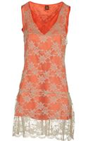 Dondup Short Dresses - Lyst