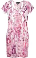 Just Cavalli Short Dresses - Lyst