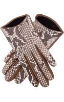 Imoni Leather Glove - Lyst