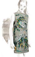 Hermes Tahiti Dress - Lyst