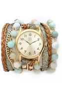 Sara Designs Agate Watch - Lyst