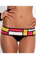 Becca Swim Colorblocked Hipster Swim Bottoms - Lyst