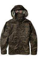 Aspesi Digital Camouflage print Waterproof Jacket - Lyst