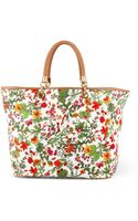 C. Wonder Floral Printed Canvas Tote - Lyst