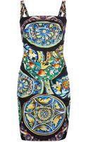 Dolce & Gabbana Printed Dress - Lyst