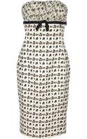Giambattista Valli Strapless Dress - Lyst