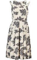 Paul Smith Sleeveless Print Dress - Lyst