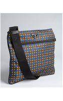 Prada Plaid Nylon Small Messenger Bag - Lyst