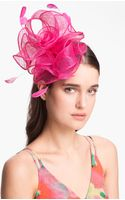 Badgley Mischka Flower Fascinator - Lyst