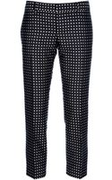 DSquared2 Cropped Polka Dot Trouser - Lyst