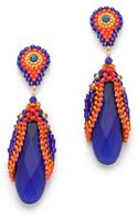 Miguel Ases Hydro Quartz Drop Earrings - Lyst