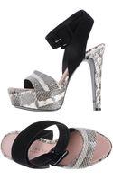 Barbara Bui Platform Sandals - Lyst