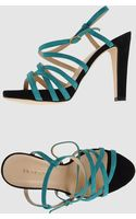 Entourage Platform Sandals - Lyst