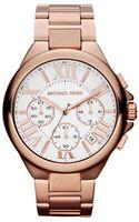 Michael Kors Ladies Rose Goldtone Stainless Steel Watch - Lyst