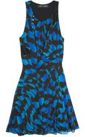 Proenza Schouler Sleeveless Print Dress - Lyst