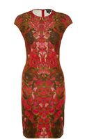 McQ by Alexander McQueen Petal Print Dress - Lyst