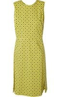 Marni Polka-Dot Print Cotton Dress - Lyst