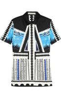 Mary Katrantzou Sangro Printed Cotton Shirt - Lyst