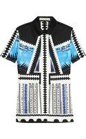 Mary Katrantzou Sangro Printed Cotton Shirt - Lyst
