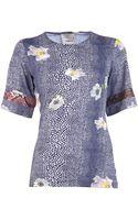 Preen By Thorton Bregazzi Alyssa T-Shirt - Lyst