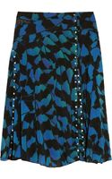 Proenza Schouler Printed Stretch chiffon and Tulle Skirt - Lyst