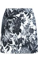 Stella McCartney Printed Mini Skirt - Lyst
