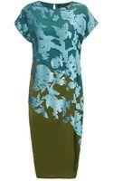 Narciso Rodriguez Malachite Paillette Sequin Dress - Lyst