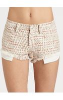 Iro Printed Shorts - Lyst