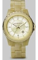 Michael Kors Horn Bracelet Watch - Lyst
