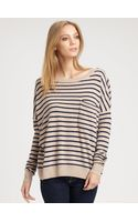 Demylee Jonathan Striped Cashmere Sweater - Lyst