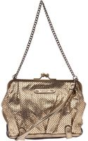 Abaco Perforated Evening Bag - Lyst