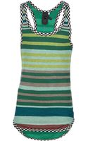 Bernhard Willhelm Print Knit Tank Top - Lyst