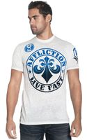 Affliction Short Sleeve Crew Neck T Shirt - Lyst