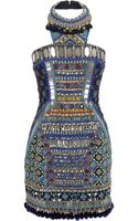 Matthew Williamson Bhangra Beaded Embroidered Corset Dress - Lyst