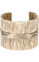 Aurelie Bidermann Textured Cuff - Lyst