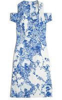 Erdem Malvine Cutout Dress - Lyst