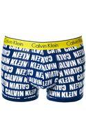 Calvin Klein Ck One Logo Trunk - Lyst
