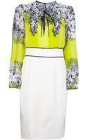 Blumarine Printed Dress - Lyst