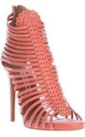 Tabitha Simmons Strippy Sandal - Lyst