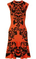 McQ by Alexander McQueen Intarsia Knitted Dress - Lyst