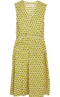 Marni Printed Cotton Poplin Dress - Lyst