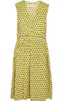 Marni Printed Cotton Poplin Dress - Lyst