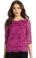 Madison Marcus Lace Top - Lyst