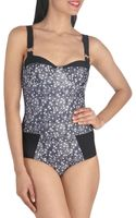 ModCloth Night Swim One Piece - Lyst