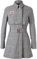 Altuzarra Striped Cotton Trench Coat - Lyst