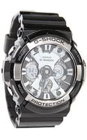 G-shock The Ga 200 Watch in Black - Lyst