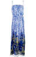 Liu Jo Mixed Floral Print Dress - Lyst
