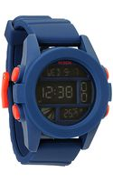 Nixon The Unit Watch in Navy - Lyst